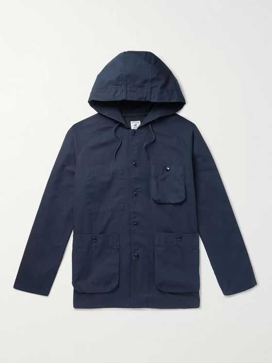 Arpenteur Cotton-Twill Hooded Jacket