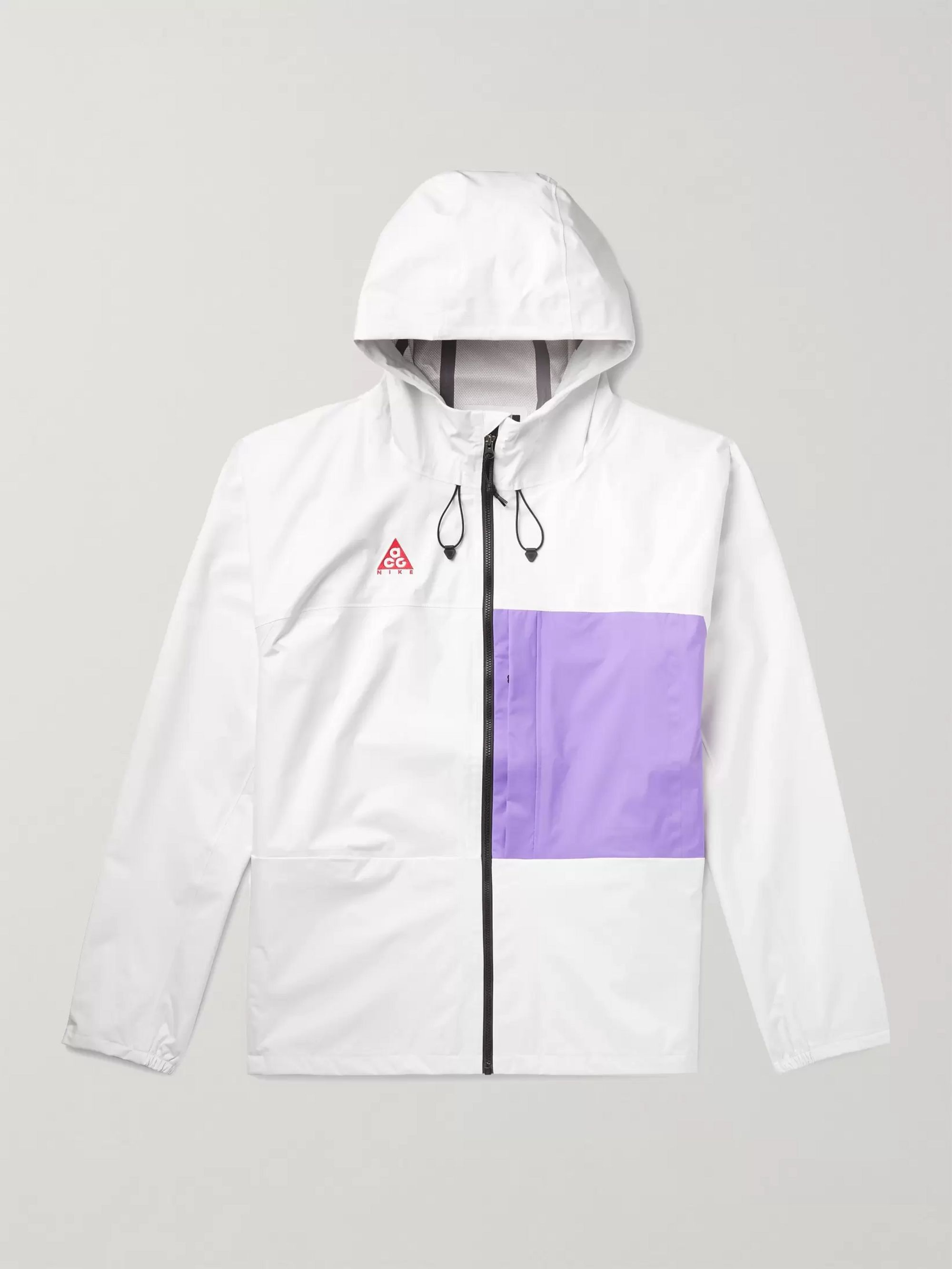 NIKE ACG Packable Colour Block Shell Hooded Jacket