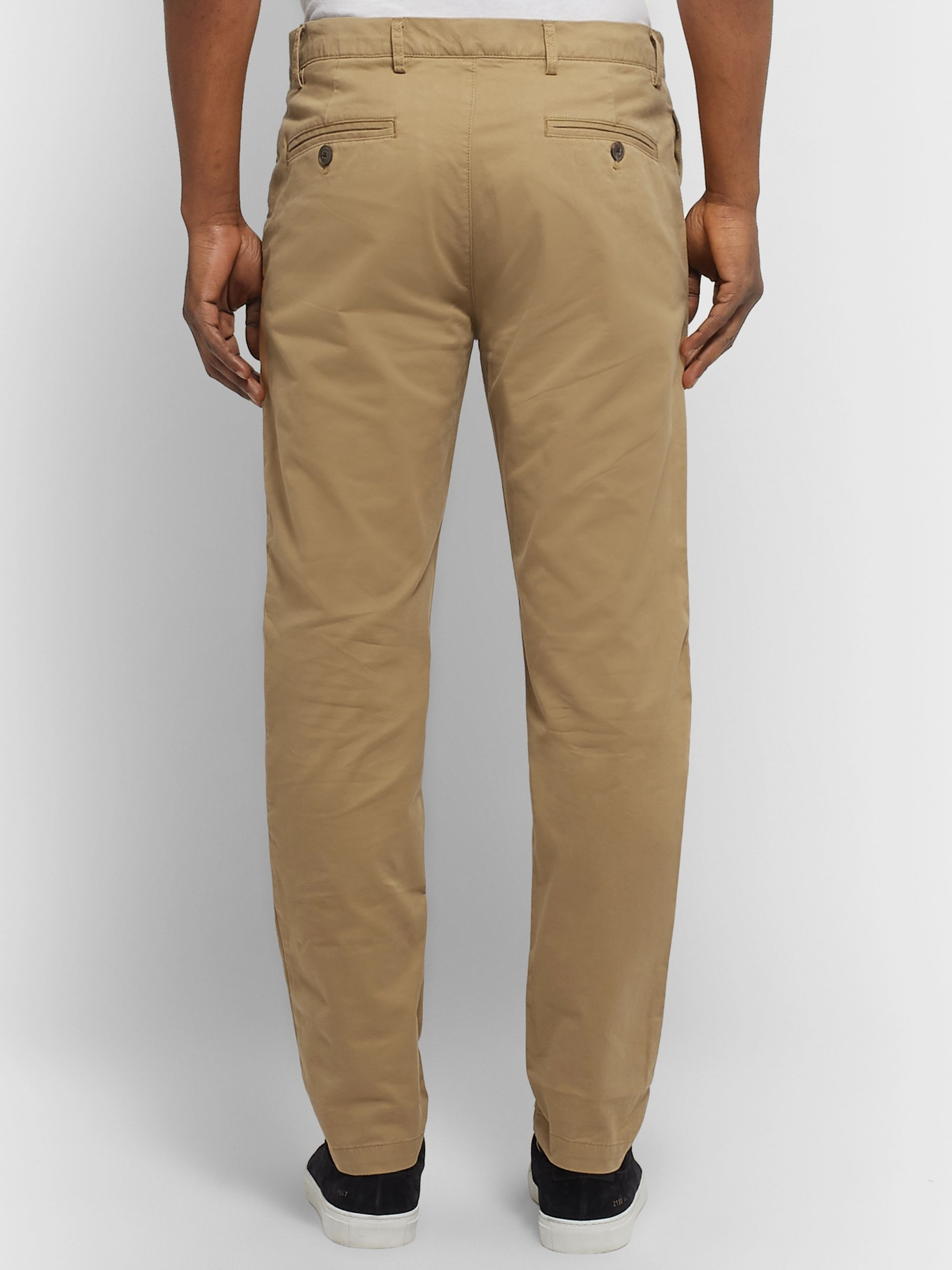 Club Monaco Slim-Fit Cotton-Blend Twill Chinos