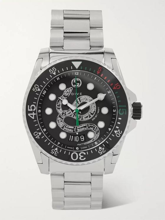 GUCCI Gucci Dive 45mm Stainless Steel Watch