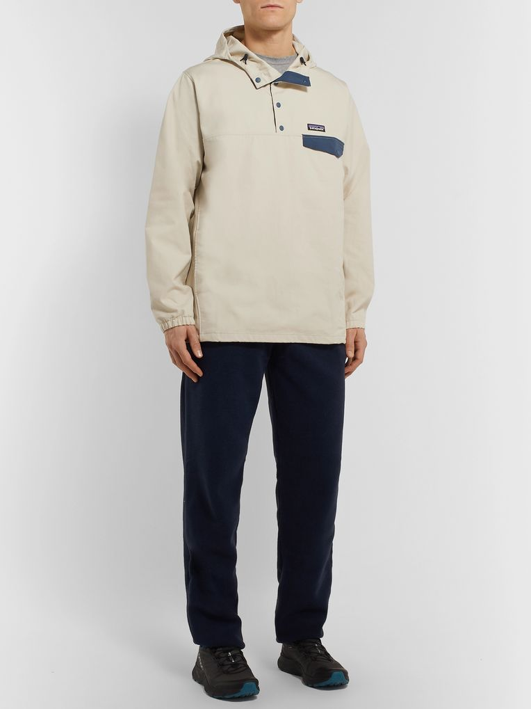 Patagonia Maple Grove Snap-T Organic Cotton-Blend Canvas Hooded Jacket