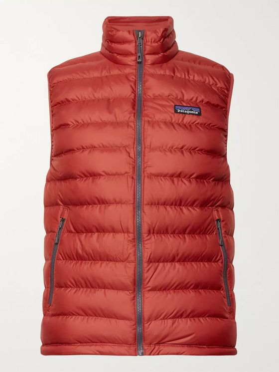 Patagonia Slim-Fit Quilted DWR-Coated Ripstop Down Gilet