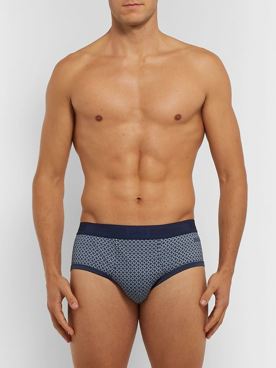 Dolce & Gabbana Printed Cotton-Jersey Briefs