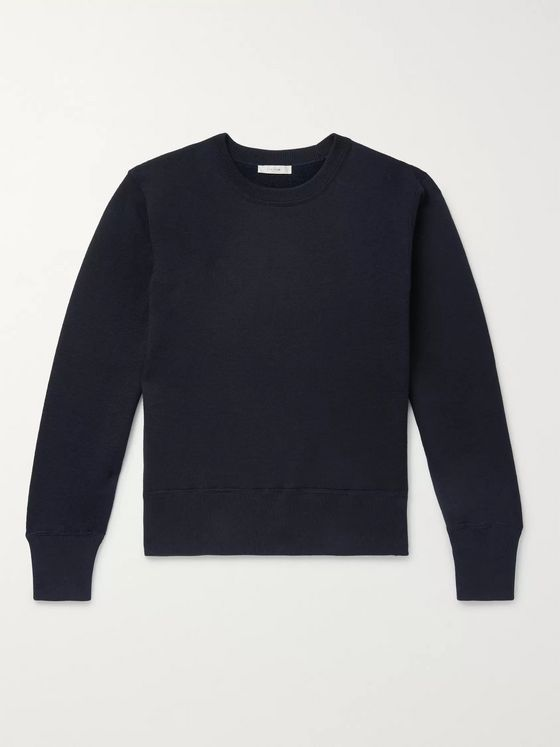 The Row Nicolas Cotton and Cashmere-Blend Sweater