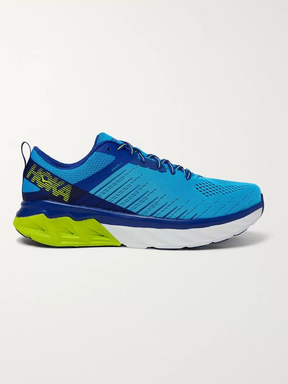 Hoka One One Arahi 3 Mesh Running Sneakers