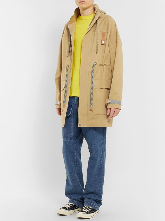 Loewe Cotton-Canvas Hooded Parka