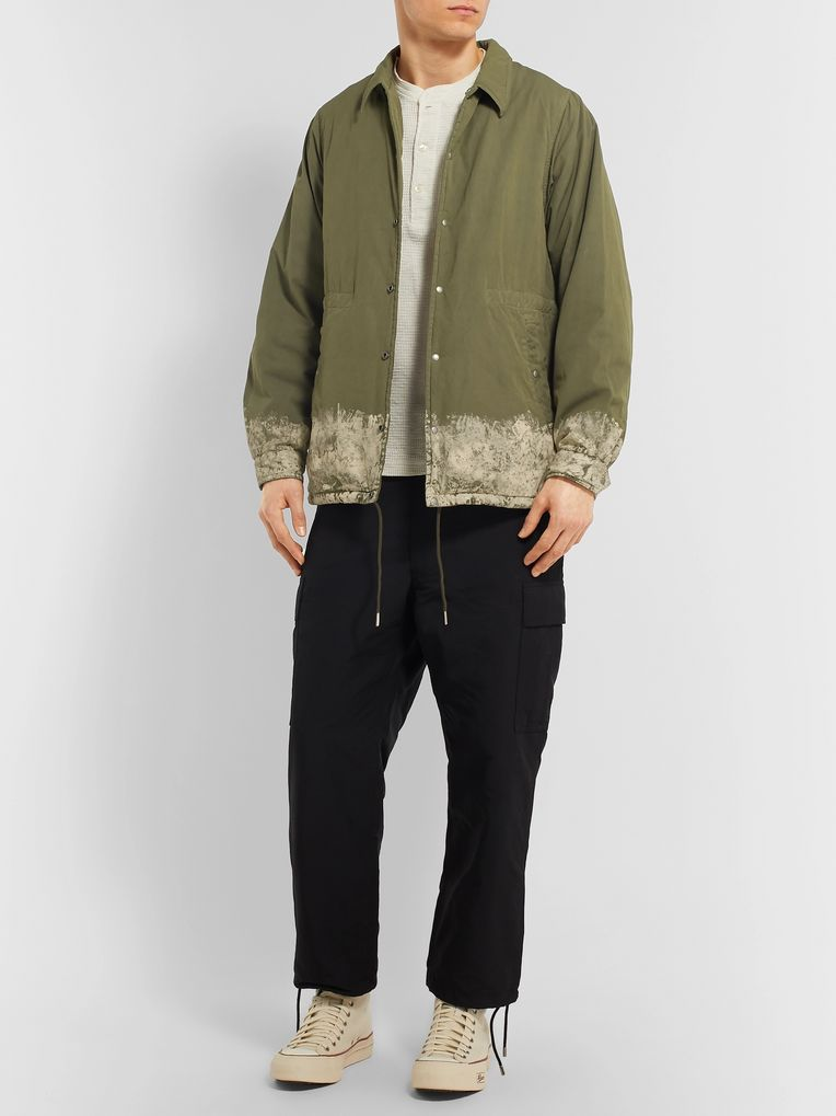 visvim Painted Padded Cotton-Blend Jacket