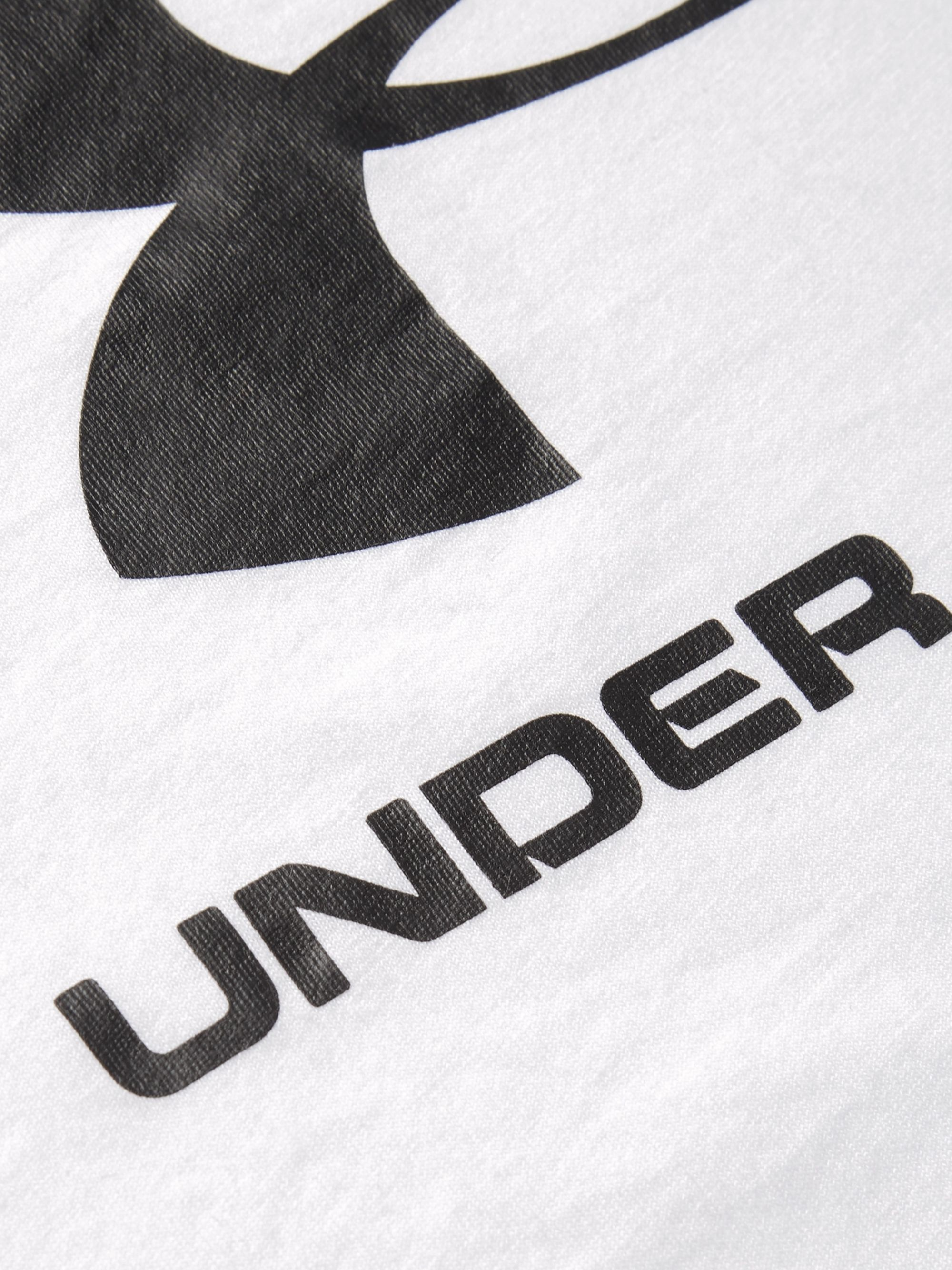 Under Armour Sportstyle Logo-Print Cotton-Blend Jersey T-Shirt