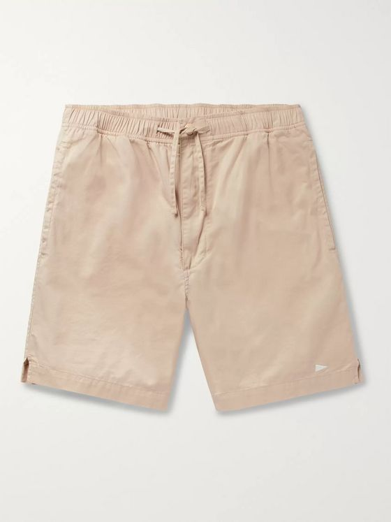 Pilgrim Surf + Supply Cheyne Hang Slim-Fit Cotton-Twill Drawstring Shorts