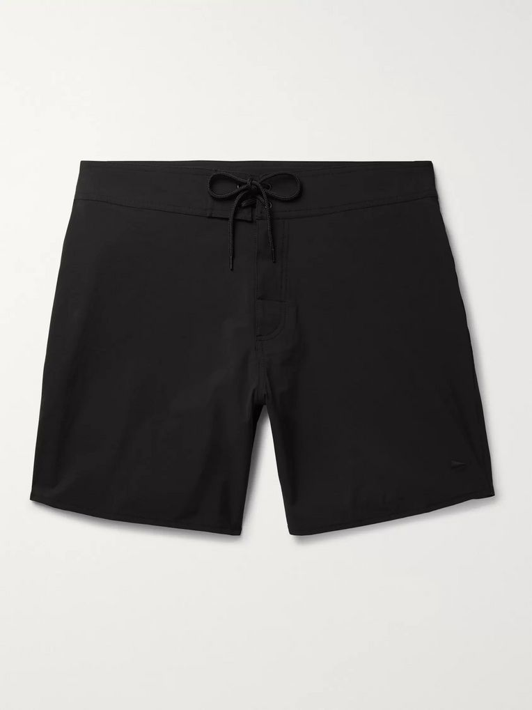 Pilgrim Surf + Supply Dorry Mid-Length Swim Shorts