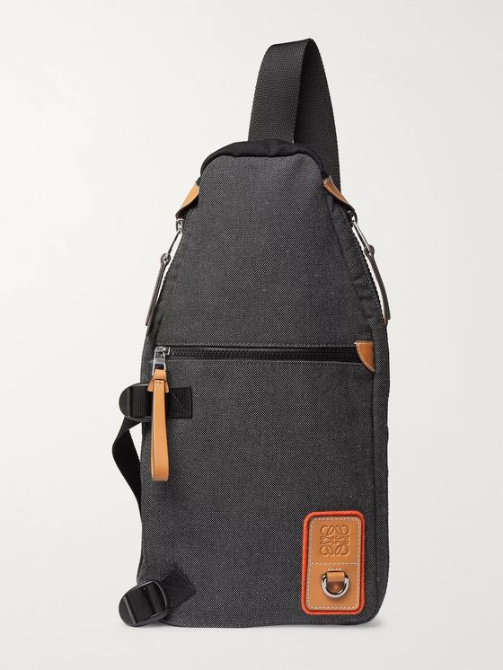 Loewe Canvas Backpack