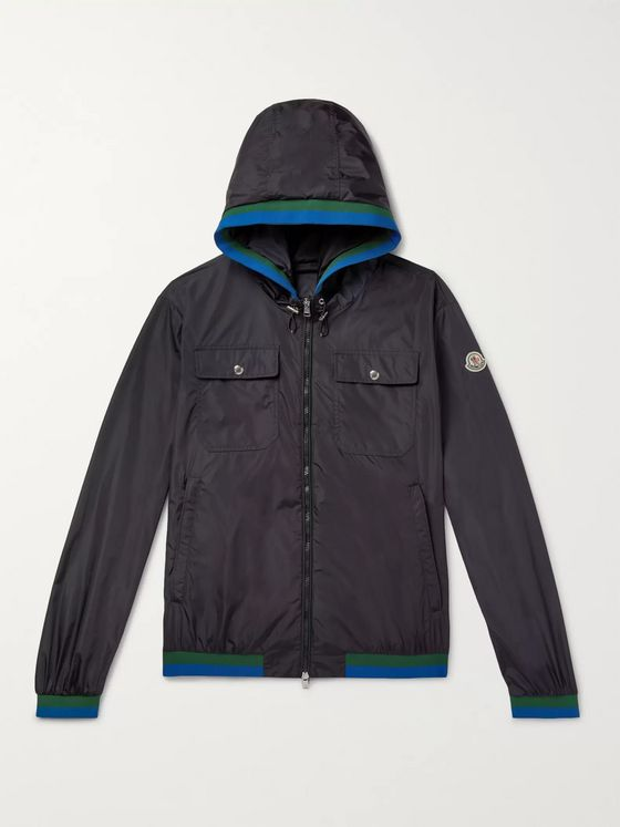Moncler Atlin Hooded Shell Jacket