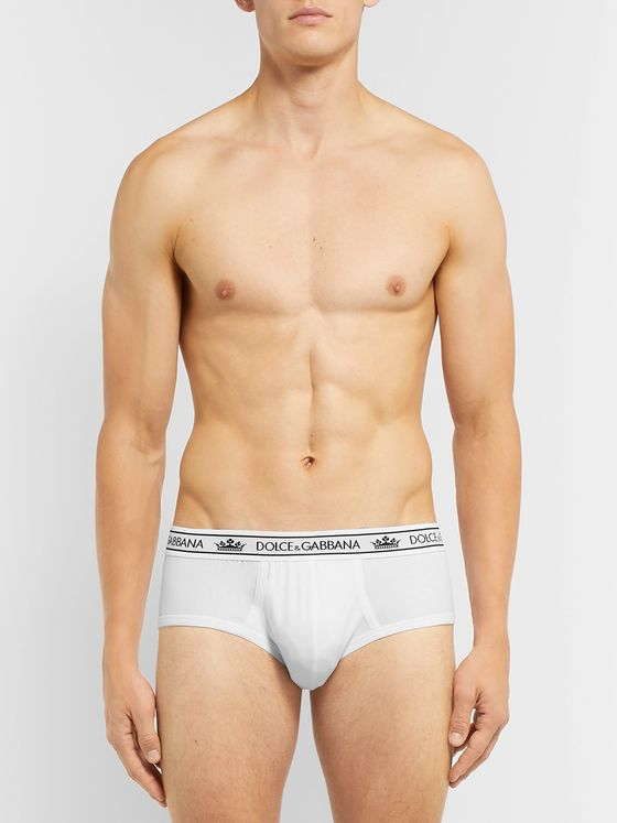 Dolce & Gabbana Stretch-Cotton Briefs