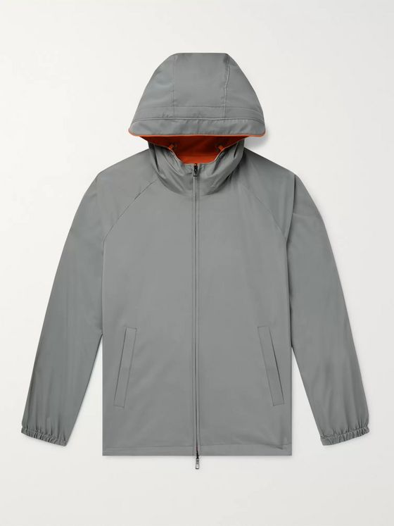 LORO PIANA Reversible Shell Hooded Jacket