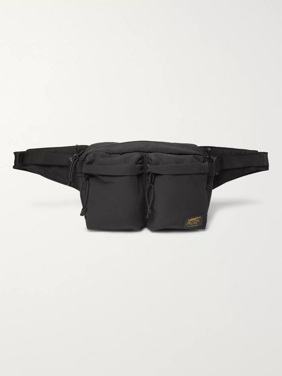 Carhartt WIP Military Twill and Canvas Belt Bag