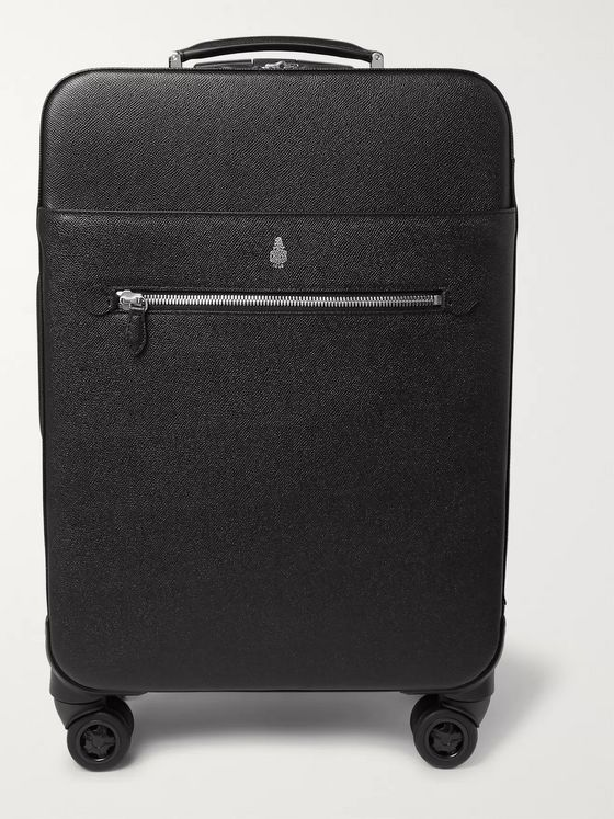 Mark Cross Full-Grain Leather Suitcase