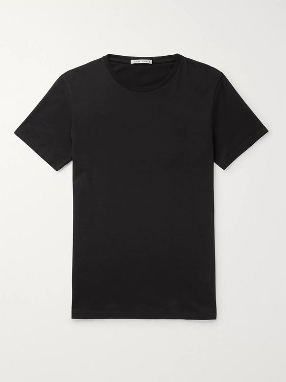 SALLE PRIVÉE Lothar Slim-Fit Cotton-Jersey T-Shirt