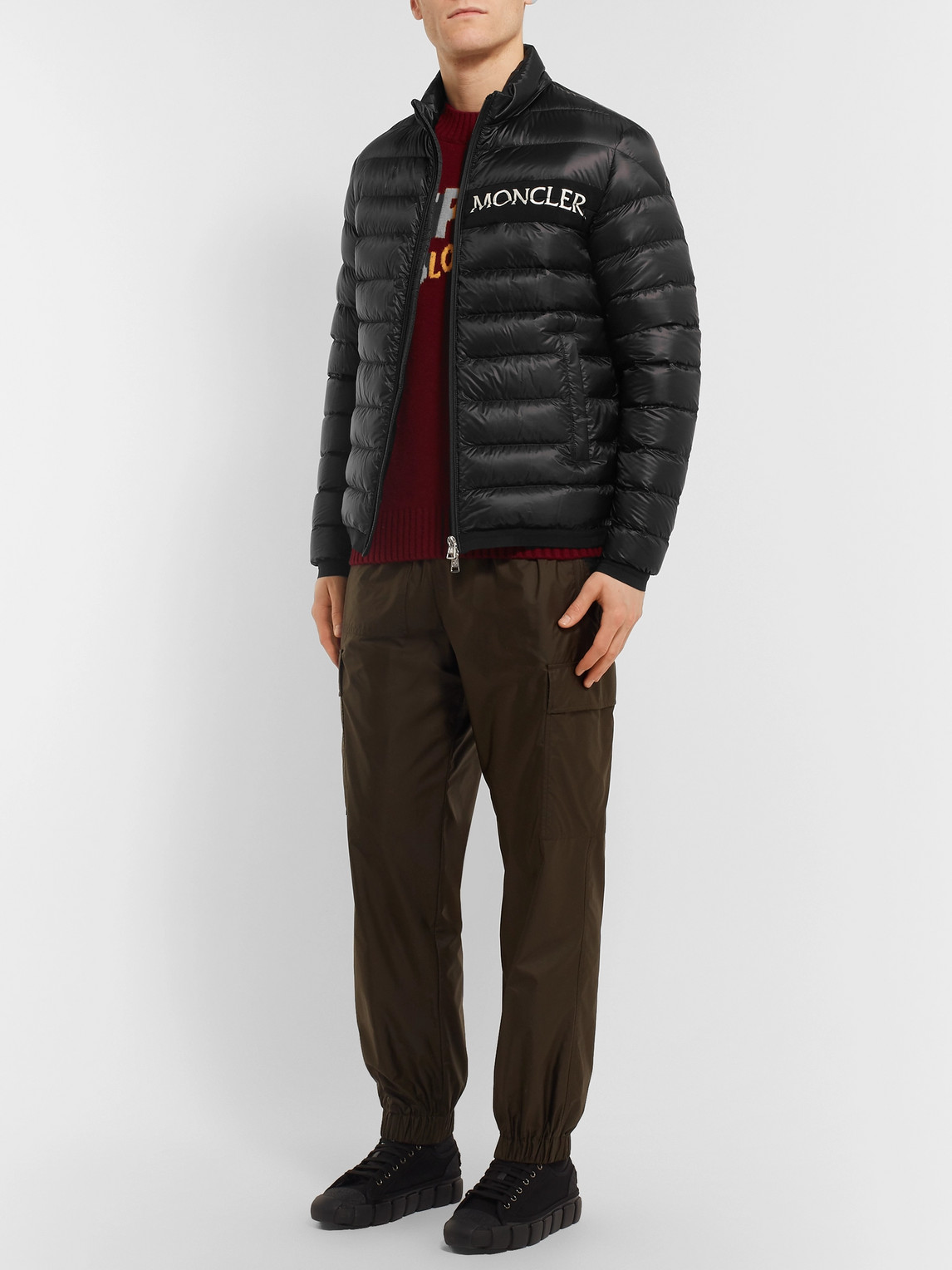 Moncler Jackets NEVEU QUILTED SHELL DOWN JACKET