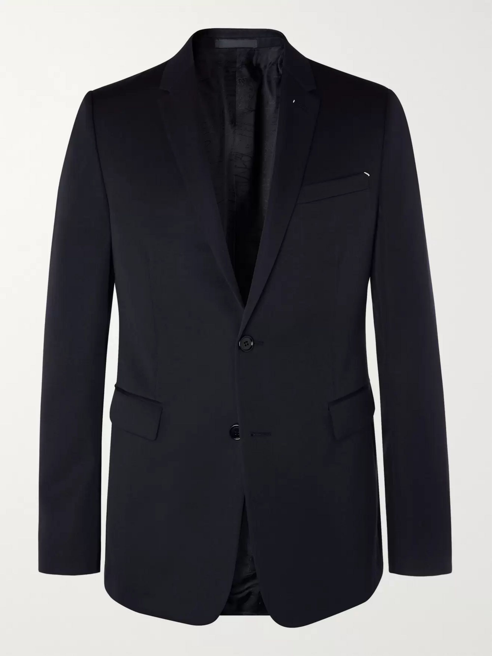 Berluti Midnight-Blue Slim-Fit Wool-Twill Suit Jacket