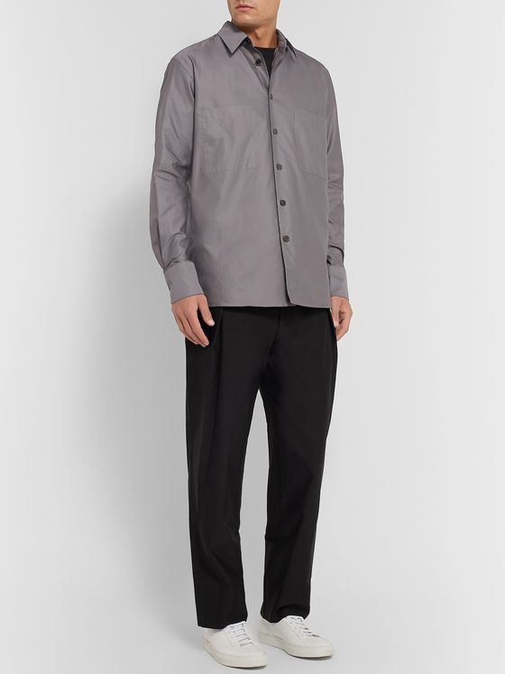 THE ROW Gerald Cotton Shirt