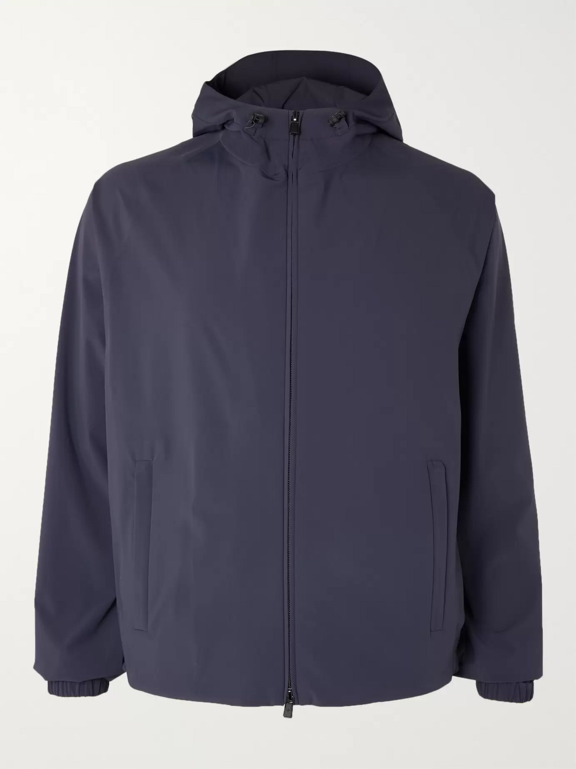 Loro Piana MatchPlay Storm System Shell Hooded Golf Jacket