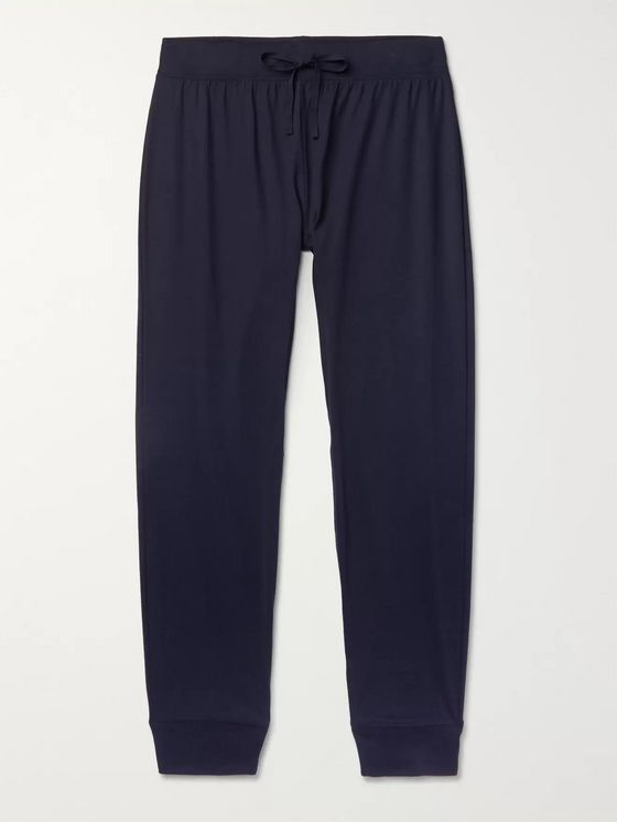 HANDVAERK Tapered Pima Cotton-Jersey Pyjama Trousers