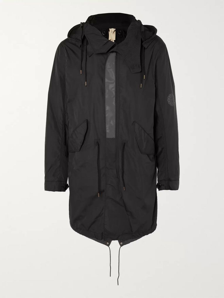 Ten C Nylon Hooded Parka