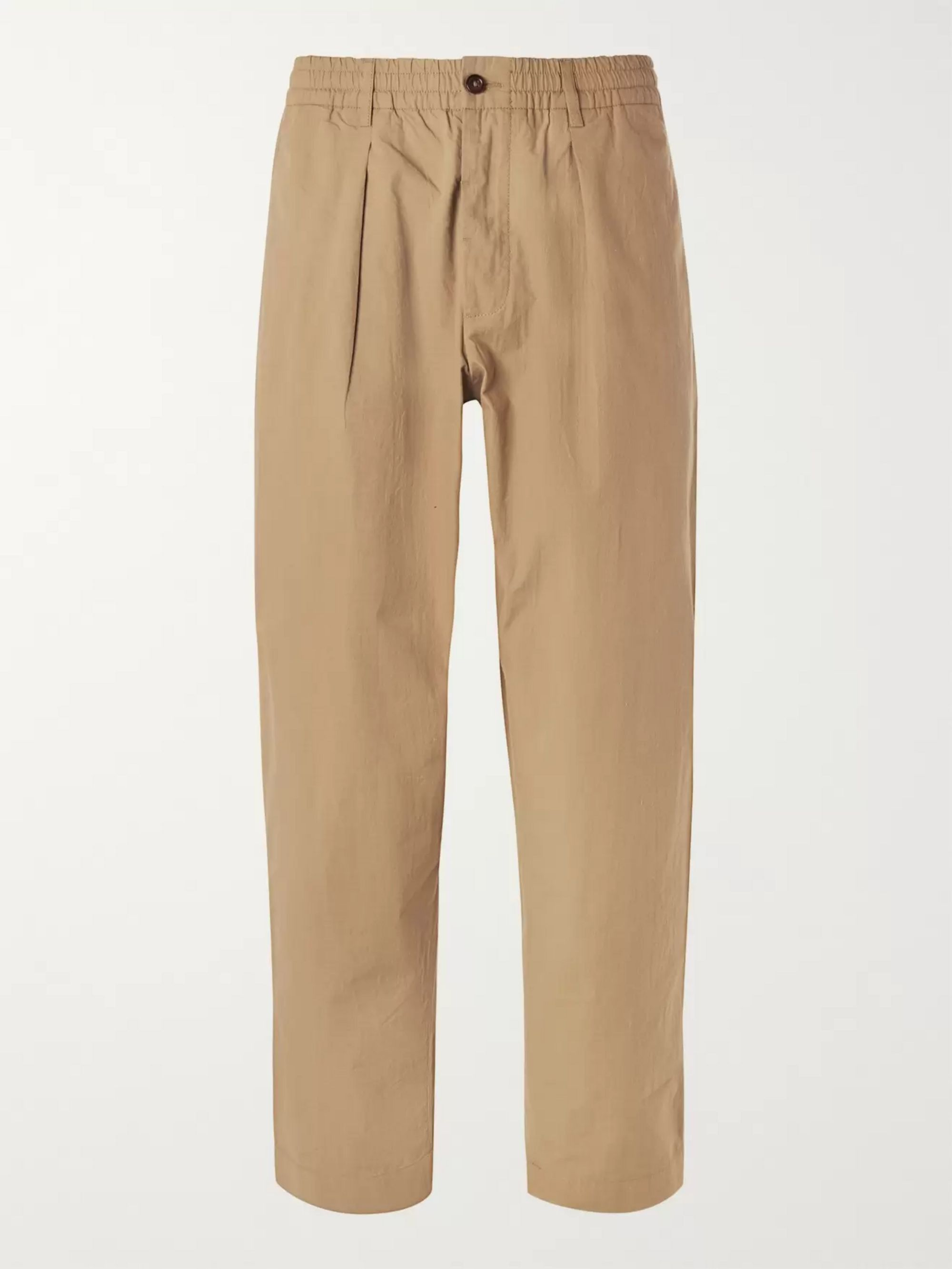 Universal Works Pleated Cotton-Ripstop Trousers