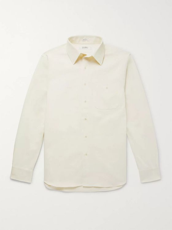 Freemans Sporting Club Slub Cotton-Twill Shirt