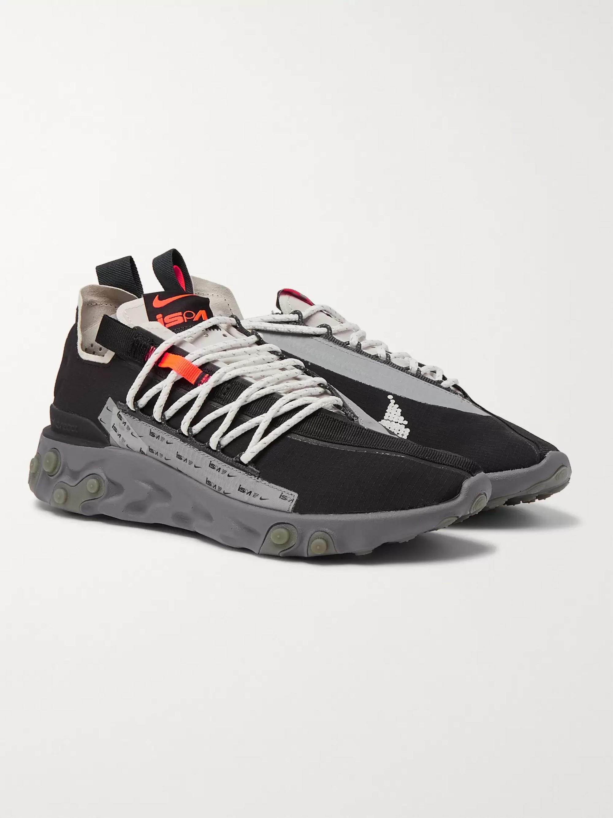 Wr Ispa Ripstop React Runner Sneakers WIEHDe2Y9