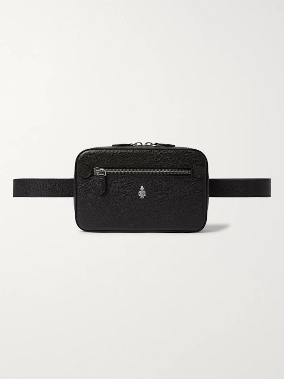 Mark Cross Baker Saffiano Leather Belt Bag