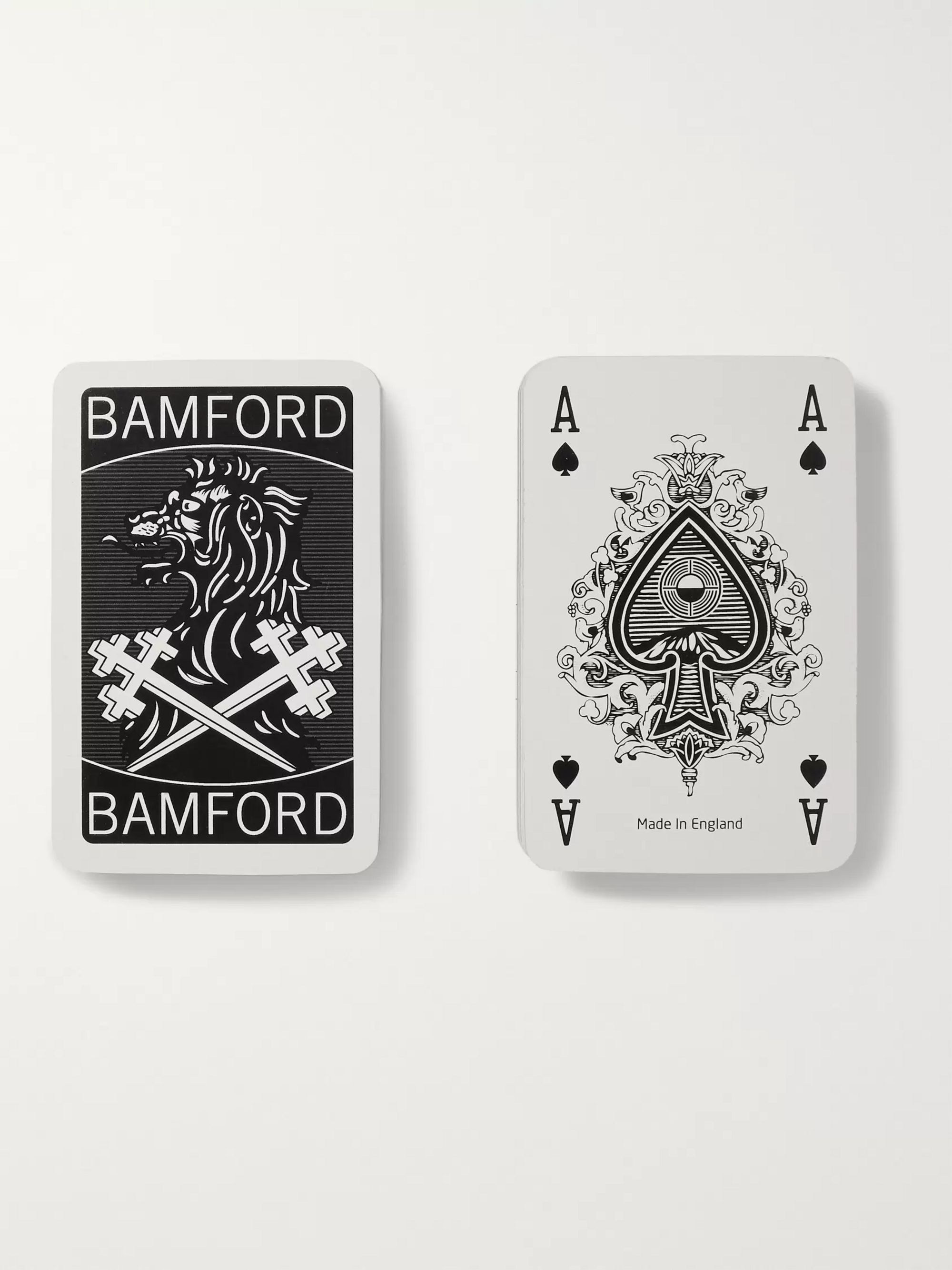 Bamford Watch Department Set of Two Illustrated Playing Cards Decks