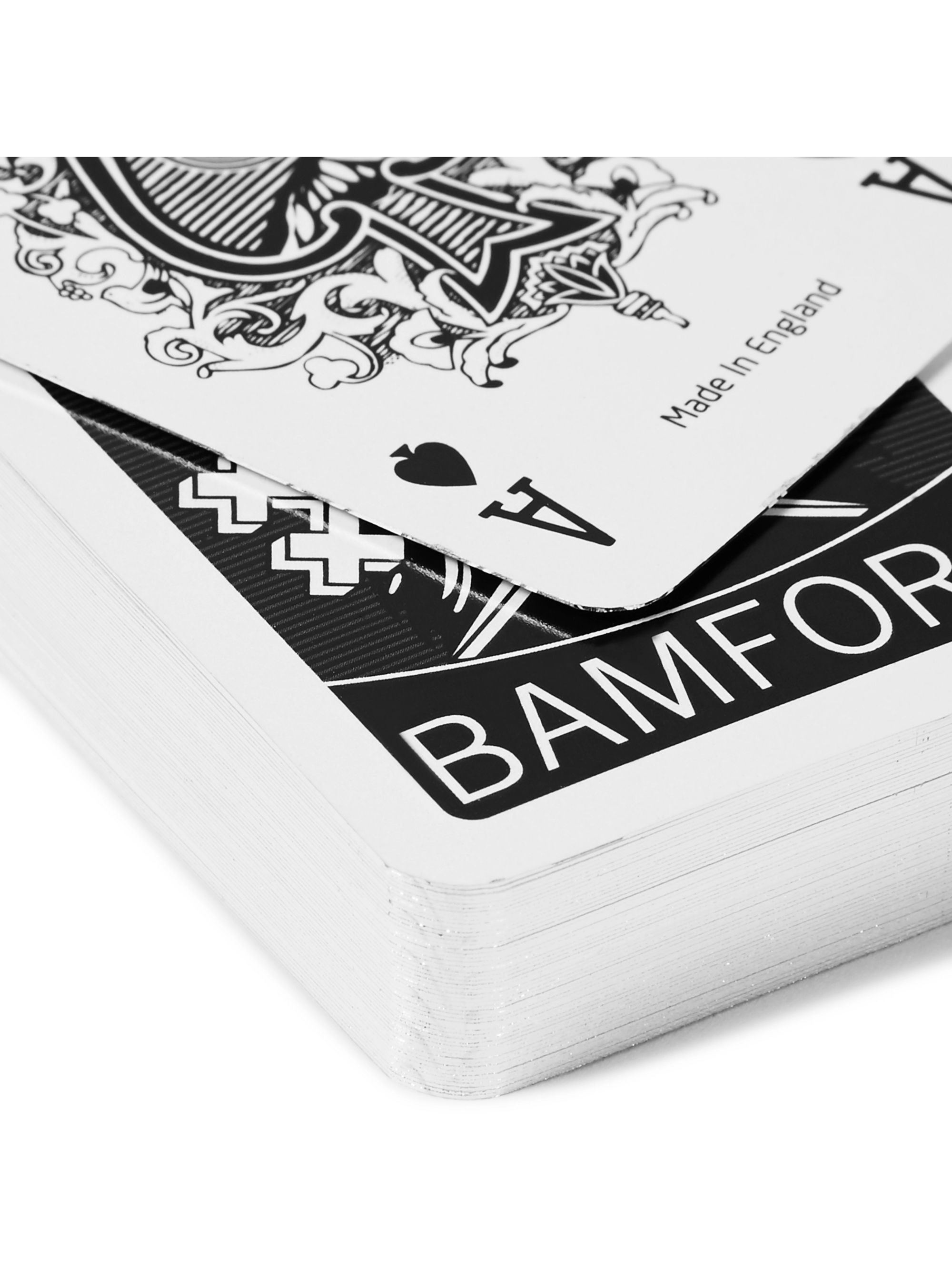 BAMFORD LONDON Two-Pack Illustrated Playing Cards Decks