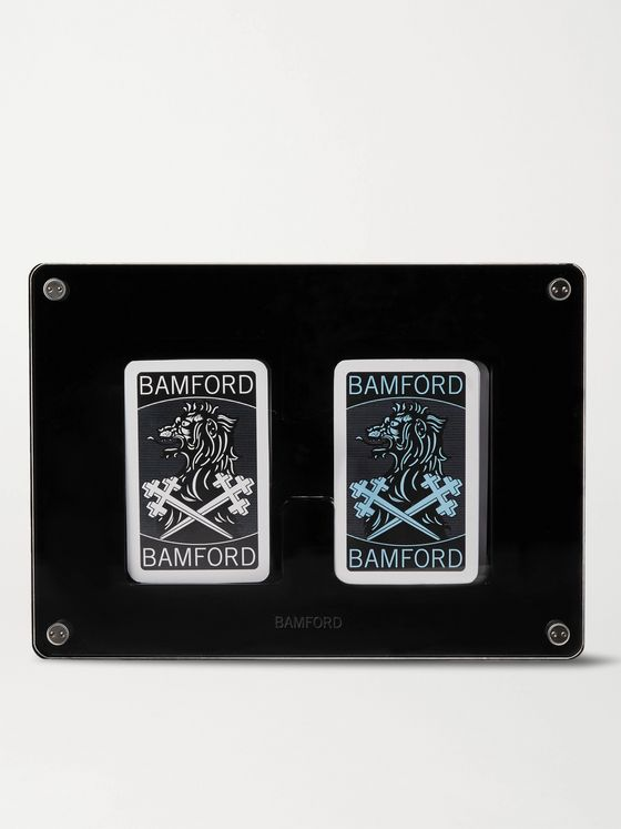 Bamford Watch Department Two-Pack Illustrated Playing Cards Decks