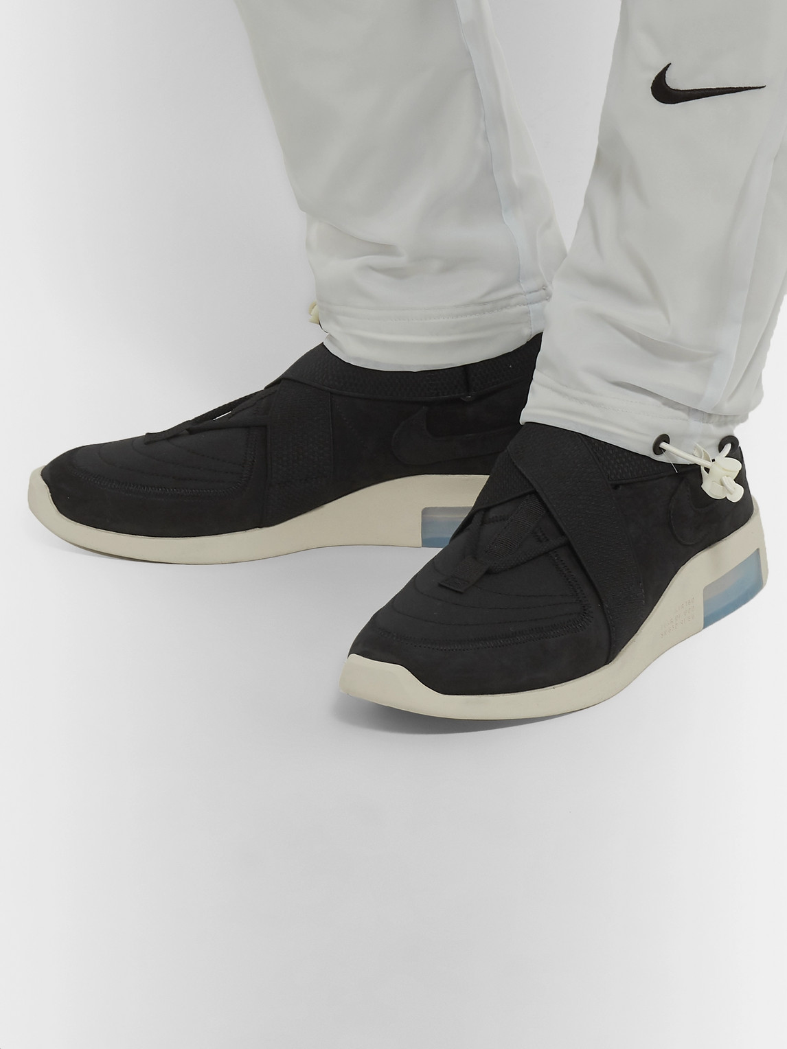 Nike Shoes FEAR OF GOD 1 AIR RAID SUEDE AND WEBBING HIGH