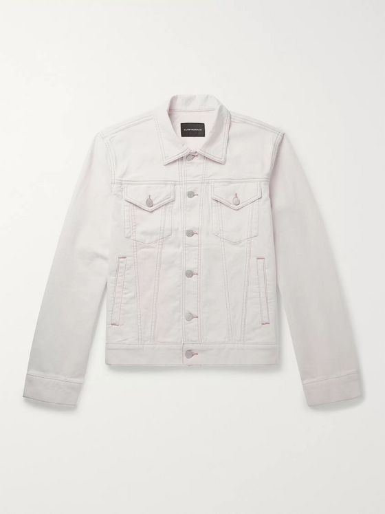 Club Monaco Stretch-Denim Trucker Jacket