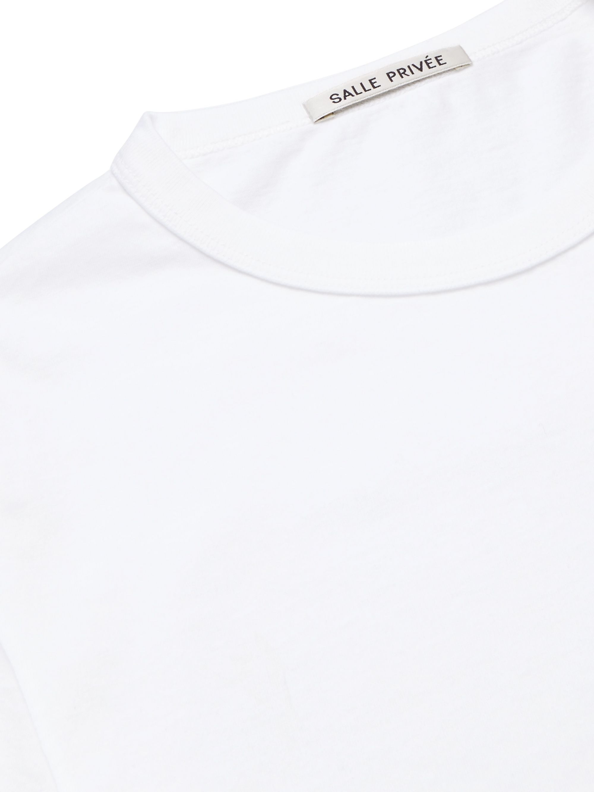 SALLE PRIVÉE Lucas Slim-Fit Cotton-Jersey T-Shirt