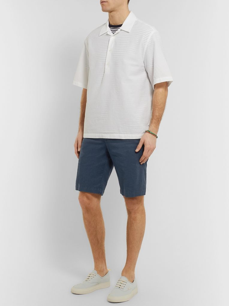 Barena Slim-Fit Linen-Blend Shorts