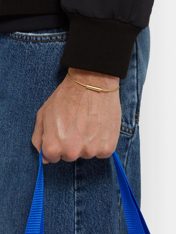 Le Gramme Le Câble 7 Brushed 18-Karat Gold Bracelet