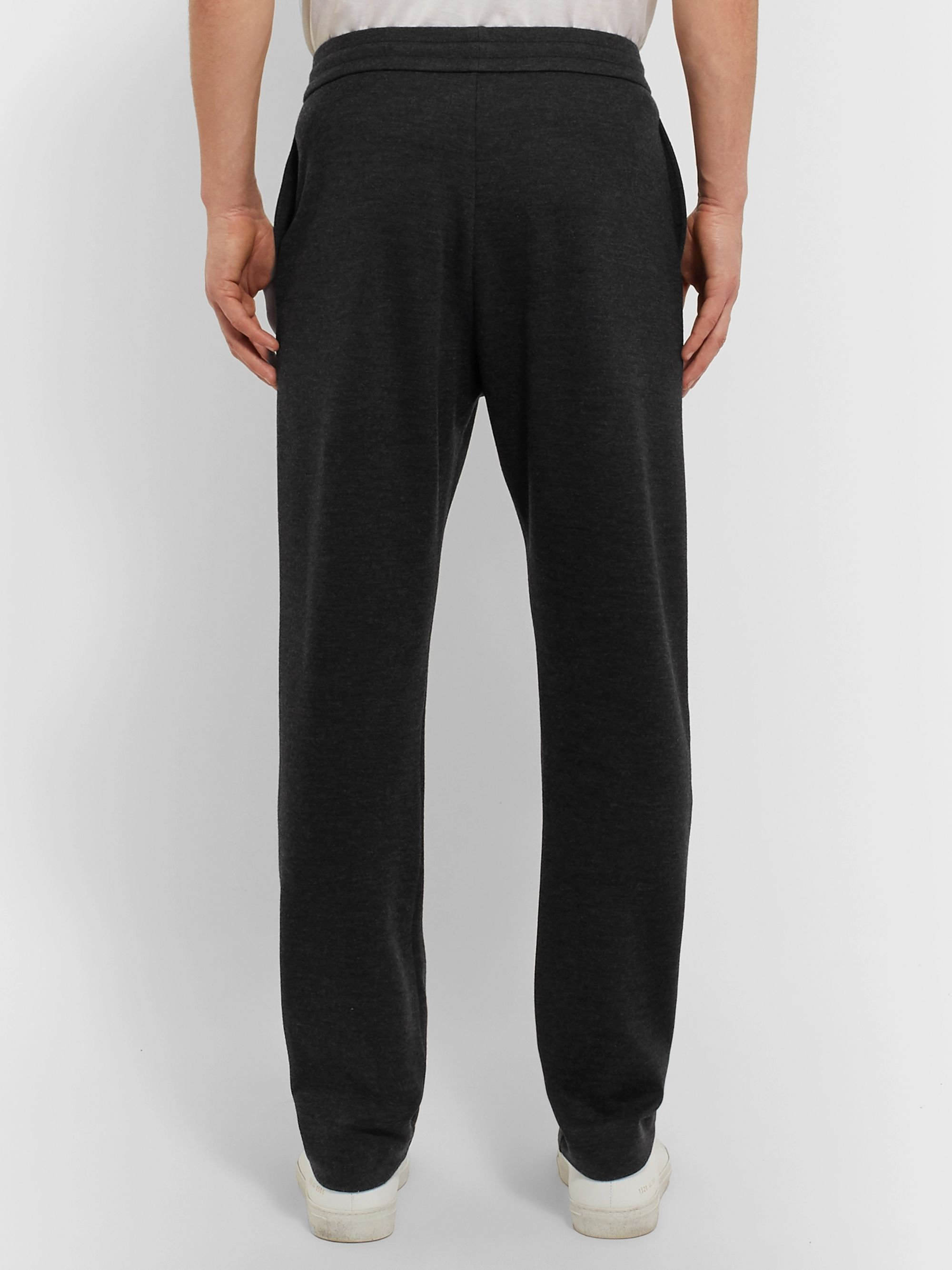 The Row LA Slim-Fit Cashmere-Jersey Sweatpants
