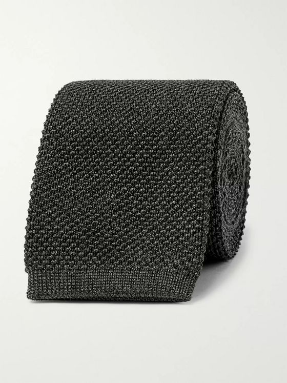 The Row 6cm Romeo Knitted Silk Tie