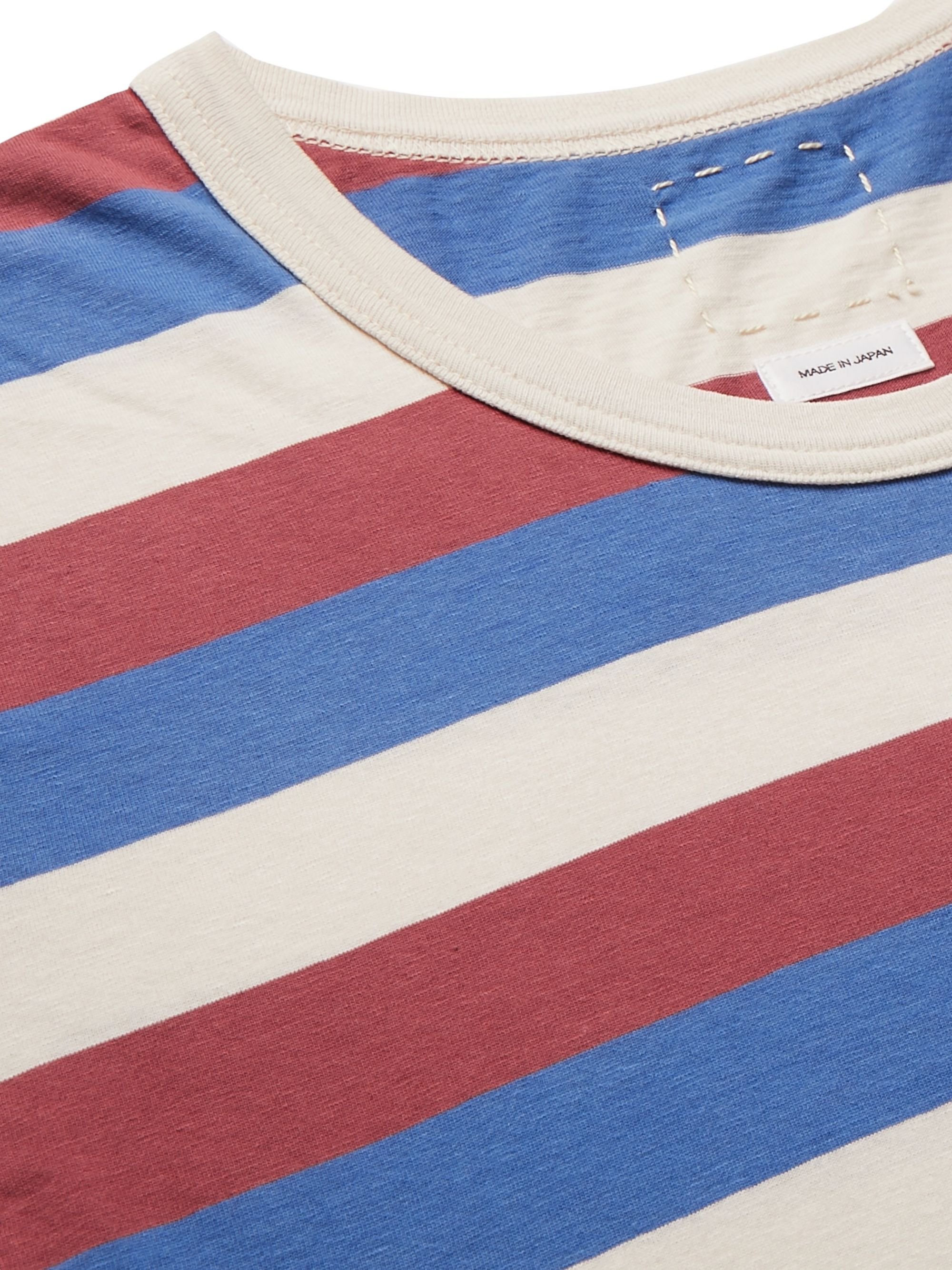 visvim Striped Cotton-Jersey T-Shirt