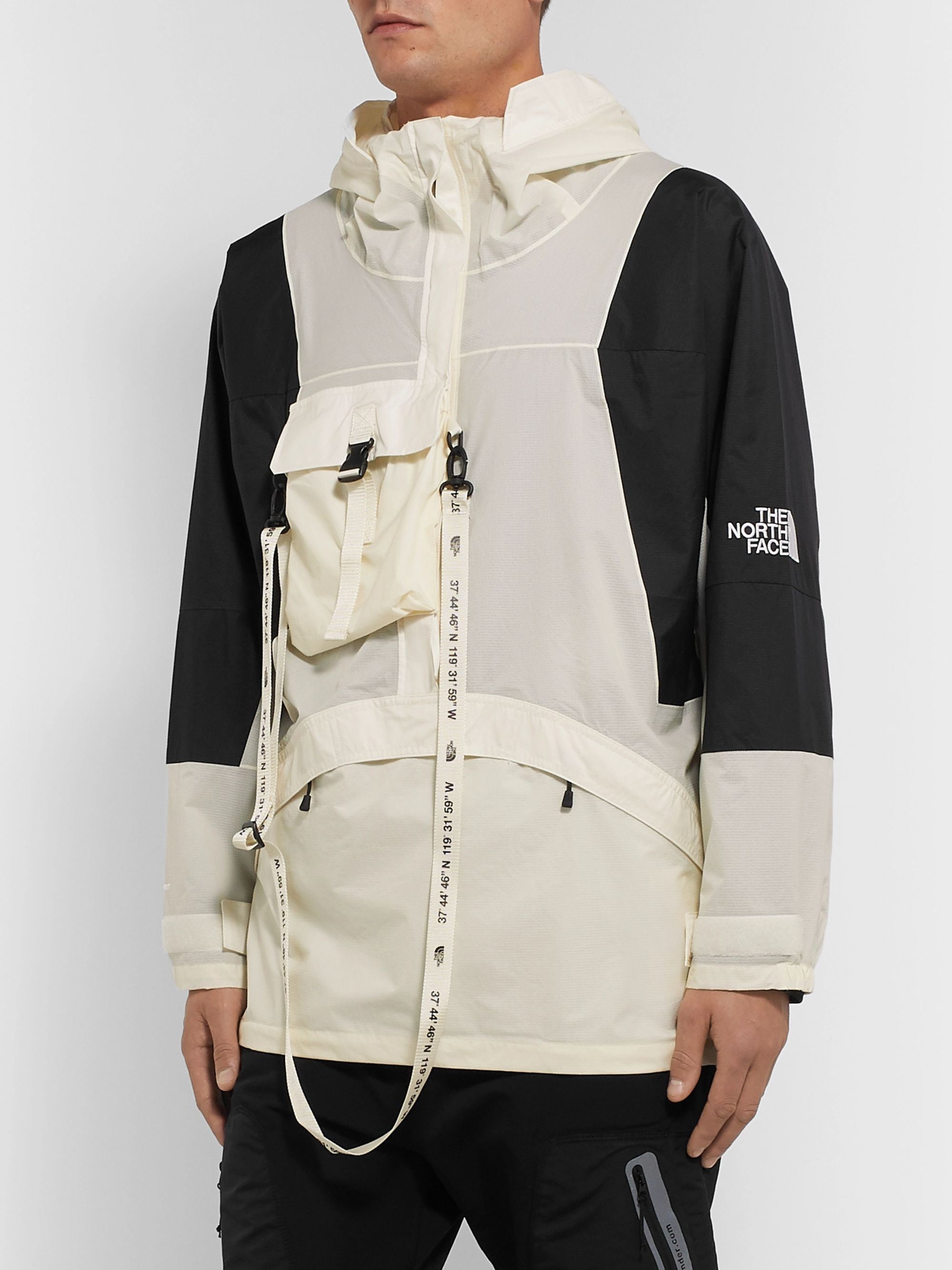 The North Face Black Series KK Webbing-Trimmed Shell Hooded Jacket
