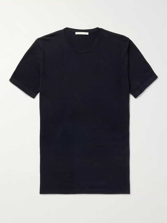 SALLE PRIVÉE Simon Cashmere and Wool-Blend T-Shirt