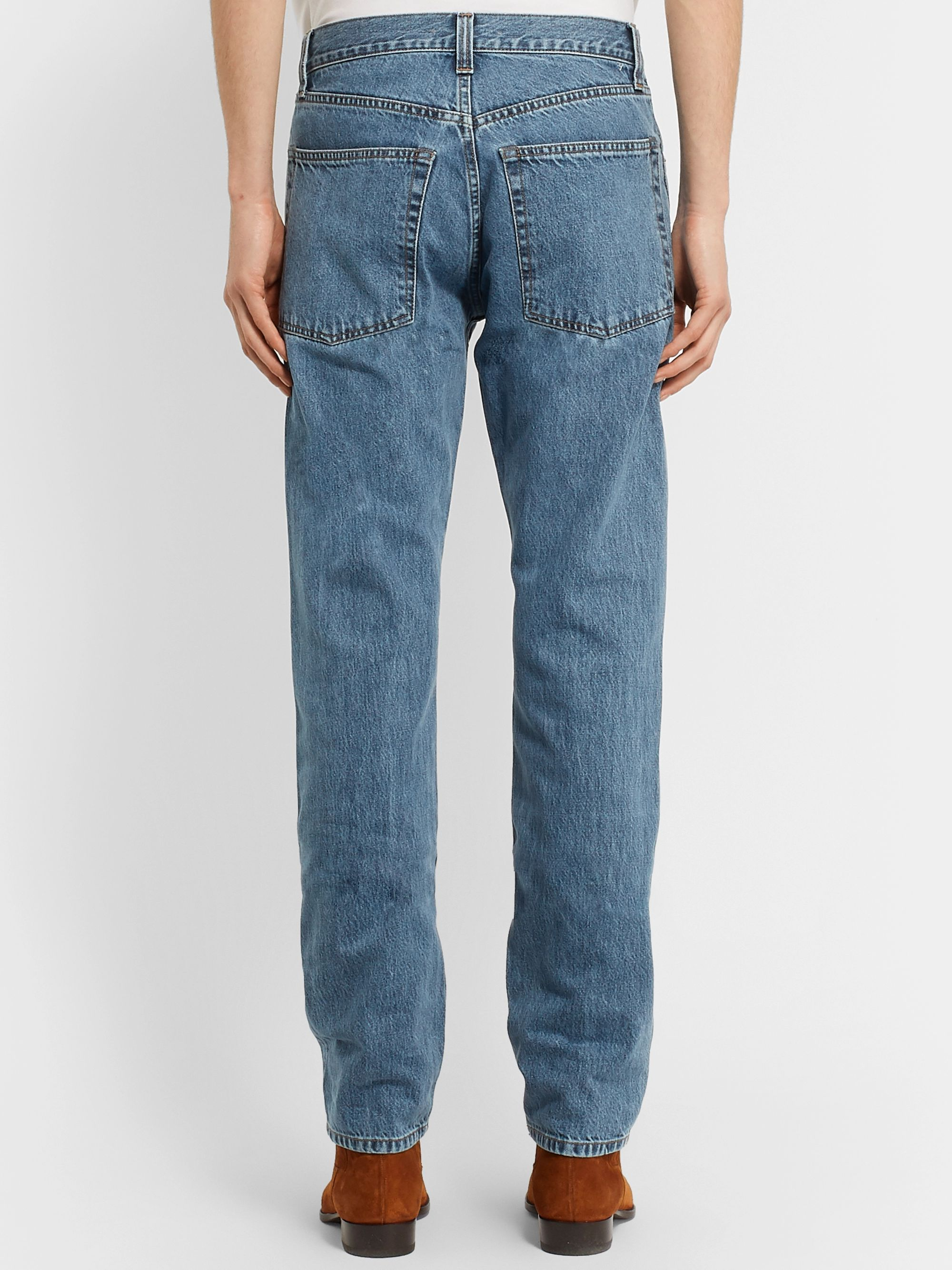 Helmut Lang Slim-Fit Denim Jeans