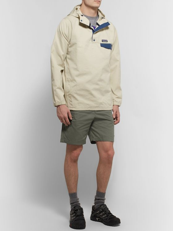 Patagonia Performance GI IV Slim-Fit Organic Cotton-Blend Shorts