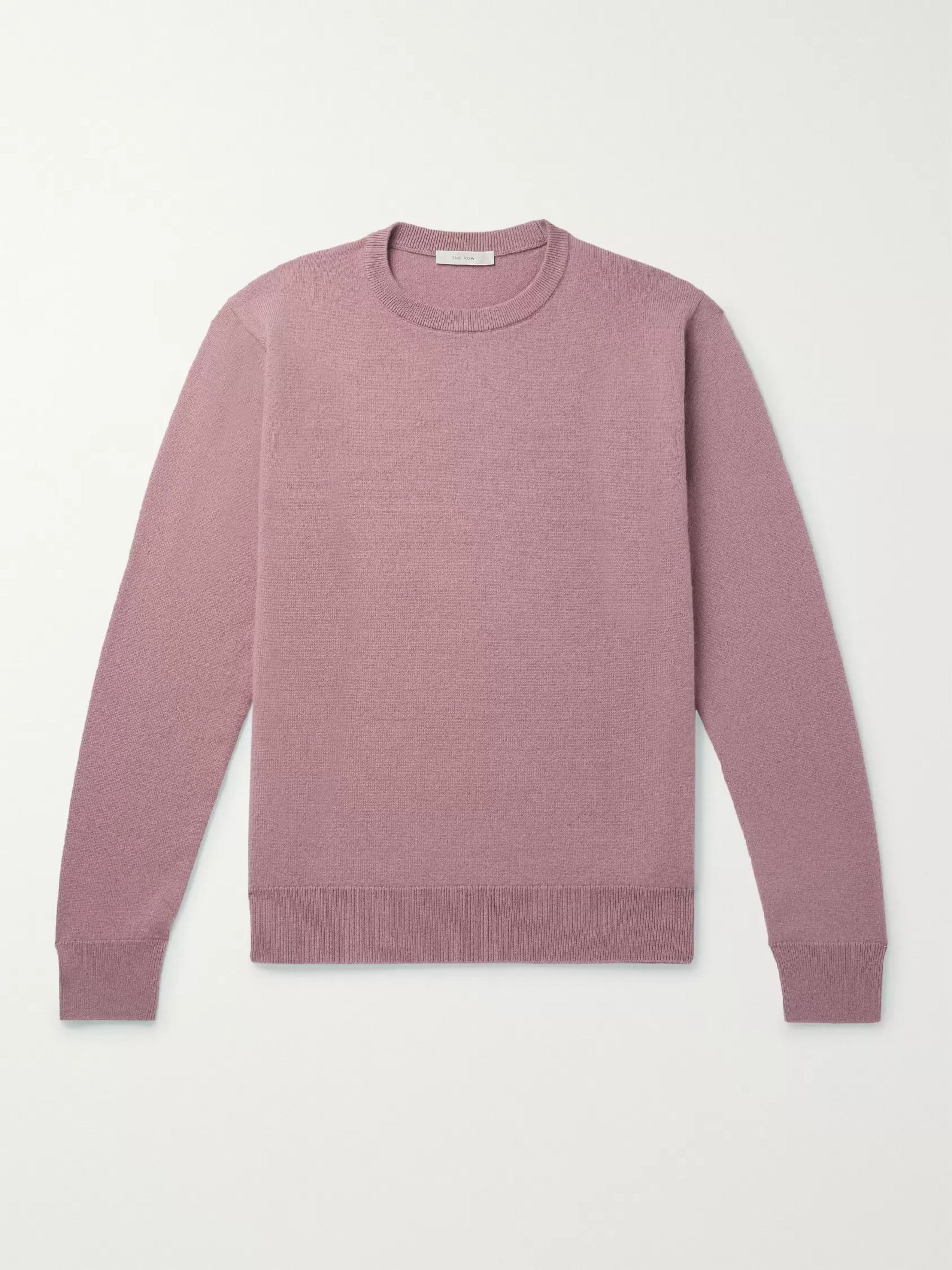 The Row Benji Slim-Fit Cashmere Sweater