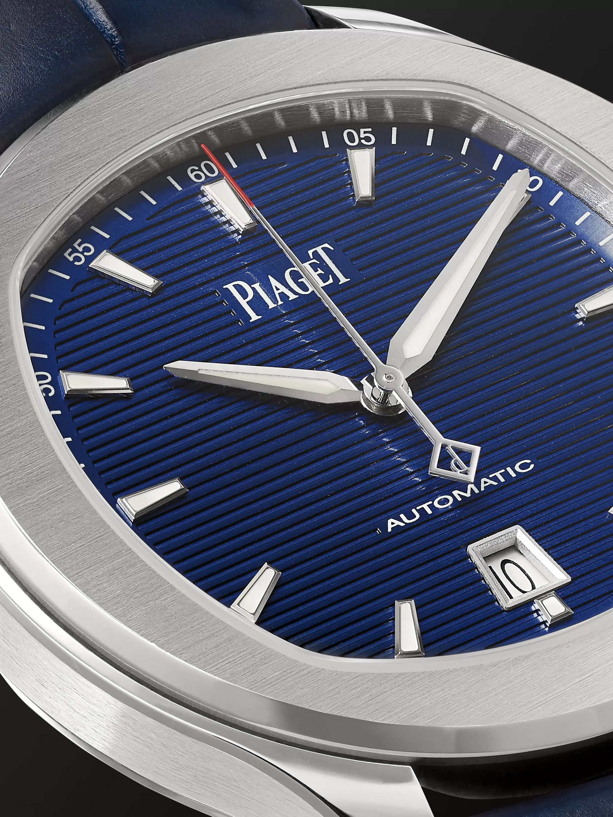 Piaget Polo S 42mm Stainless Steel and Alligator Watch, Ref. No. G0A43001
