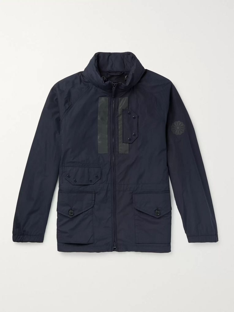 Ten C Reflective-Trimmed Nylon Jacket