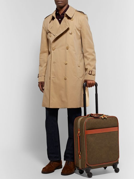 MULBERRY Pebble-Grain Leather Suitcase
